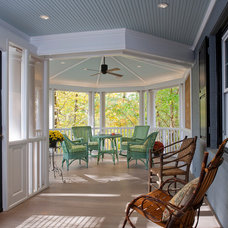 Traditional Porch by Ossolinski Architects, PLLC