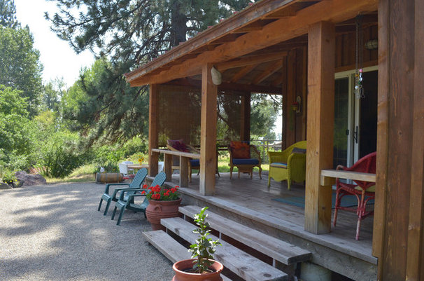 Rustic Porch by Sarah Greenman