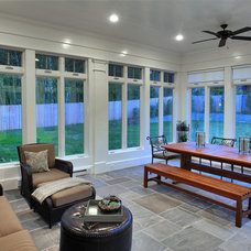 Traditional Porch by Laurence Cafritz Builders