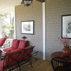 Traditional Porch by Sterling Custom Construction