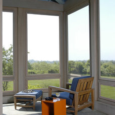Farmhouse Porch by John Hummel & Associates Custom Builders