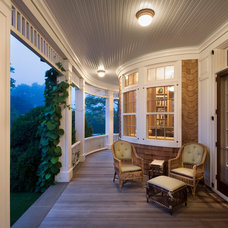 Traditional Porch by Timothy Macdonald Inc.
