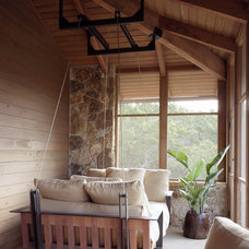 Traditional Porch by Furman + Keil Architects