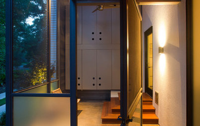 Entryway Appeal Can Hinge on a Pivot Door