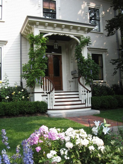 Traditional Porch by Jean Brooks Landscapes