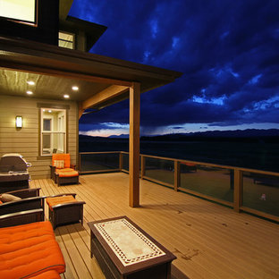 Inspiration for a southwestern porch remodel in Other