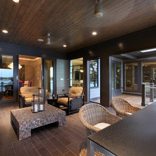 Contemporary Porch by Visbeen Architects