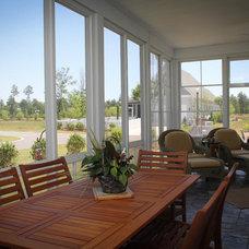 Traditional Porch by Fogleman Associates, Inc
