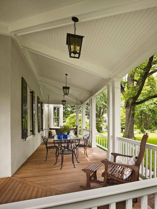 Porch ceiling home design ideas pictures remodel and decor for Balcony ceiling design