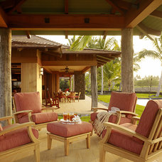 Tropical Porch by Slifer Designs