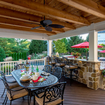 Hayfield Covered Patio & Pool