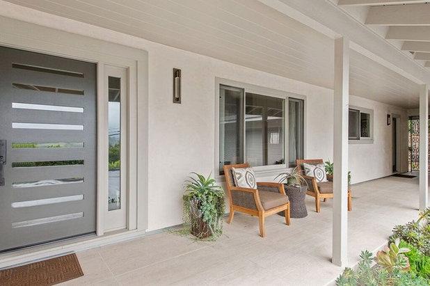 Contemporary Porch Healdsburg Hillside Ranch