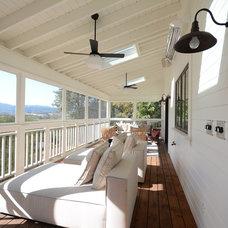 Farmhouse Porch by Patrick Perez Architect