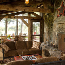 Rustic Porch by RMT Architects