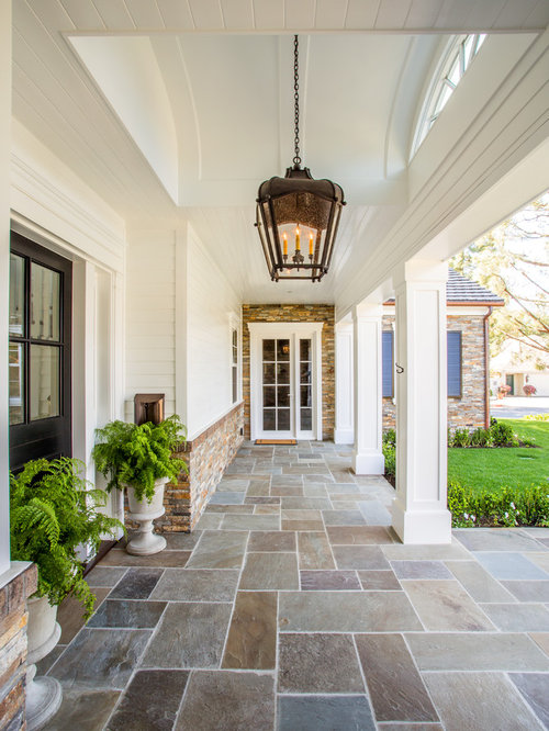 Traditional Exterior Front Porch Design Pictures Remodel Decor And Ideas Soooo Pretty: Porch Tiles Home Design Ideas, Pictures, Remodel And Decor