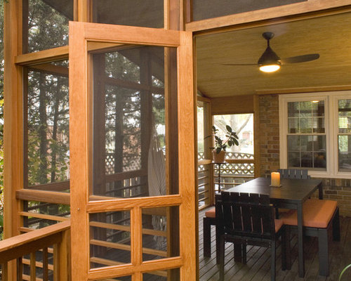 Building Wood Frame Screen Doors Houzz