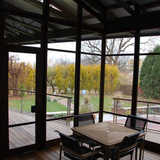 Contemporary Porch by Andrew Sidford Architects
