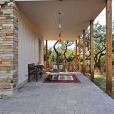 Traditional Porch by Capstone Custom Homes