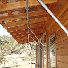 Rustic Porch by Studio Industrielle