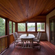 Contemporary Porch by Sheldon Pennoyer Architects