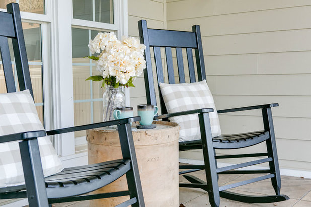 Beach Style Porch by Linden Creek Home Staging