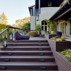 Contemporary Porch by Urban Chalet Inc.