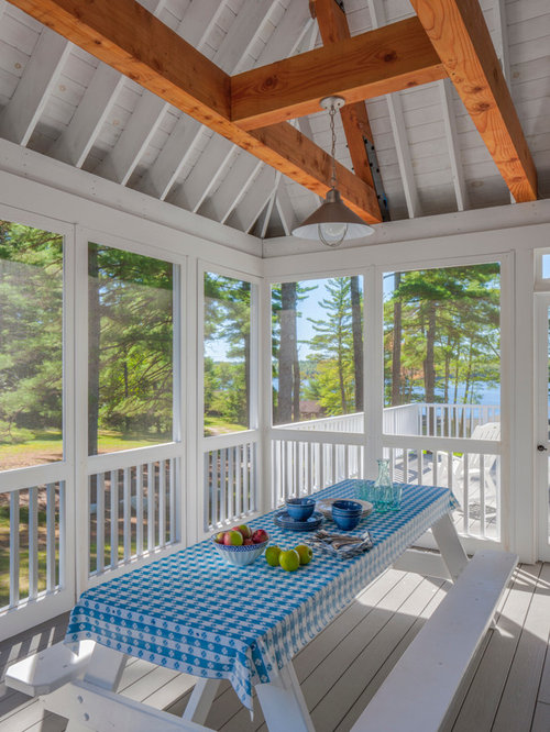 peaks enclosed wide homes homescottage cottage porches porch tailored kit