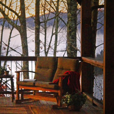 Porch by Alderman Design Build