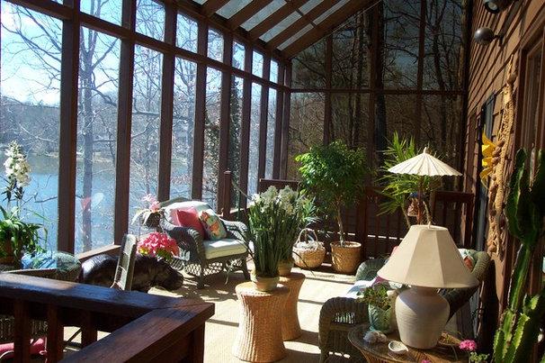 Eclectic Porch by Ben Dial/ Stedman House Richmond, VA.