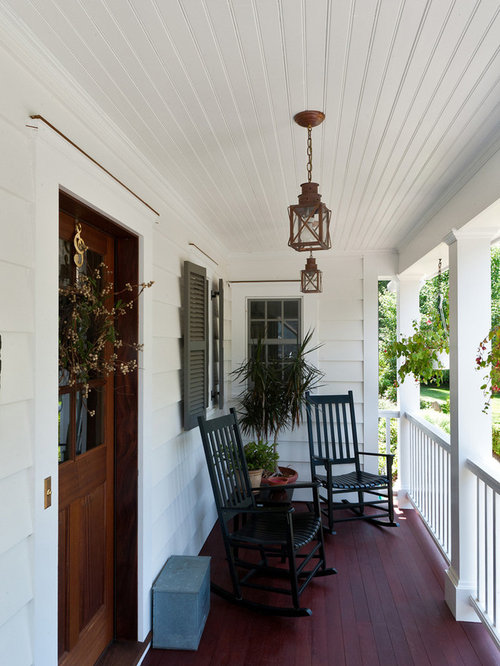 Small front porch home design ideas pictures remodel and for Traditional porch