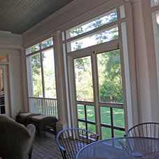 Traditional Porch by O'Neil Architects