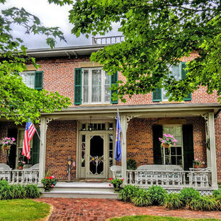 Inspiration for a victorian porch remodel in Other