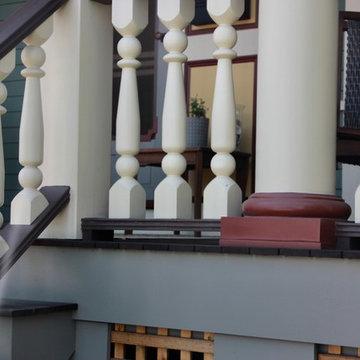 Historic Porch Restoration - 19th Century Victorian