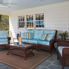 Traditional Porch by Kim Kendall Interiors