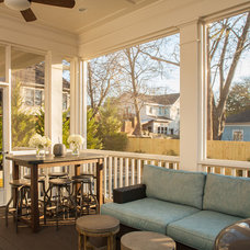 Craftsman Porch by Renewal Design-Build