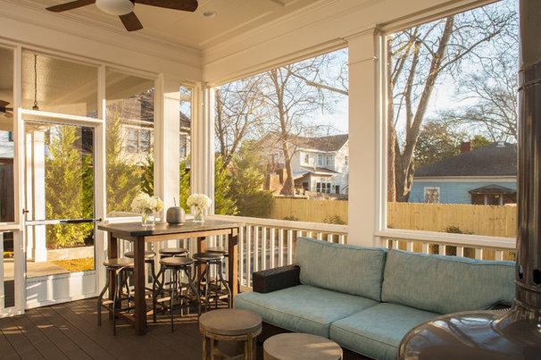Craftsman Porch by Renewal Design-Build