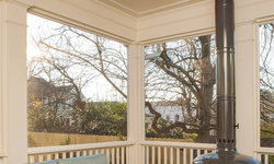 Historic Whole House Renovation - Screened Porch