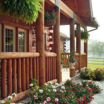 Holcomb Log Home
