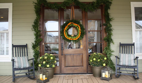 Porch Decorating Ideas for Thanksgiving to New Year's