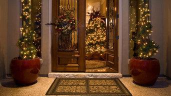 Holiday Inspiration - Christmas Tree Instalations
