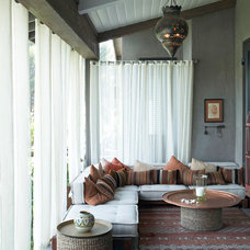 mediterranean porch by Burdge & Associates Architects