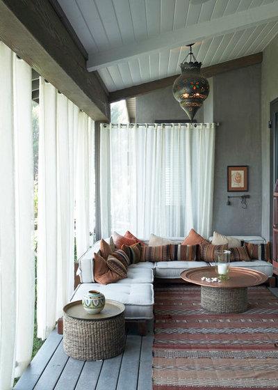 Mediterranean Porch by Burdge & Associates Architects