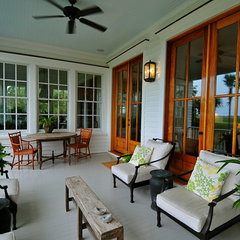traditional porch by Alix Bragg Interior Design