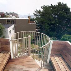 Contemporary Porch by Glenn Robert Lym Architect