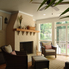 Traditional Porch by Soorikian Architecture