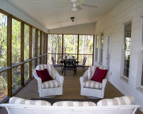 212 modern screened in porch design ideas remodel pictures houzz. Black Bedroom Furniture Sets. Home Design Ideas