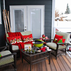 Contemporary Porch by AMR Design