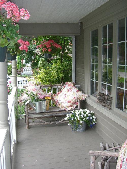 Best shabby chic style veranda design ideas remodel for Shabby chic porch ideas