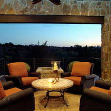 Traditional Porch by Design Visions of Austin