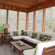 Transitional Porch by Magnum Fine Home Builder, INC